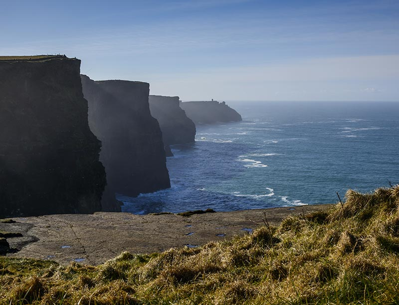 The cliffs of Moher need no introduction