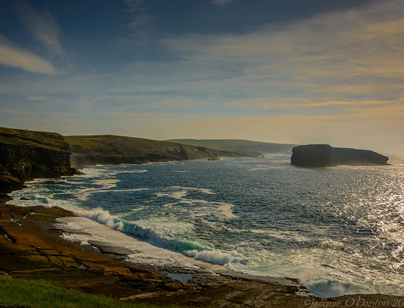 The Cliffs at Kilkee, while not as high as Moher, are just as spectacular