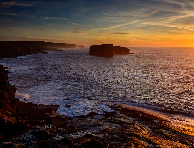 Dramatic Sunsets to be had on the Clare Coast