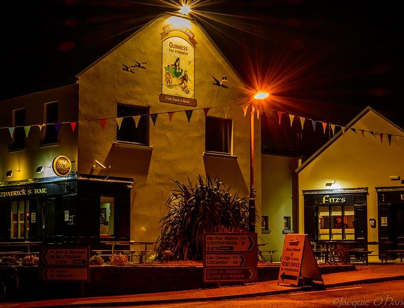 Fitzpatrick's pub at the Doolin Hotel